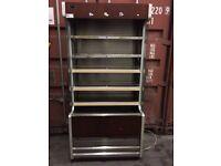 Slimline chiller multi deck DAIRY cabinet display fridge for shops