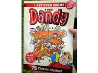 THE DANDY - AFTER 75 YEARS THIS IS A COLLECTOR'S FINAL EDITION (2 available)