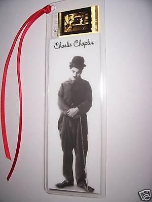 CHARLIE CHAPLIN CLASSIC Movie Film Cell Bookmark Rare!