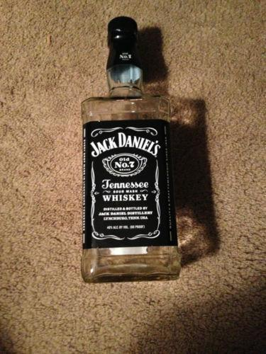 jack daniels bottle ebay. Black Bedroom Furniture Sets. Home Design Ideas