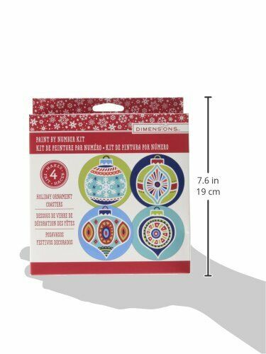 Dimensions Christmas Coasters Paint By Number Christmas Craf