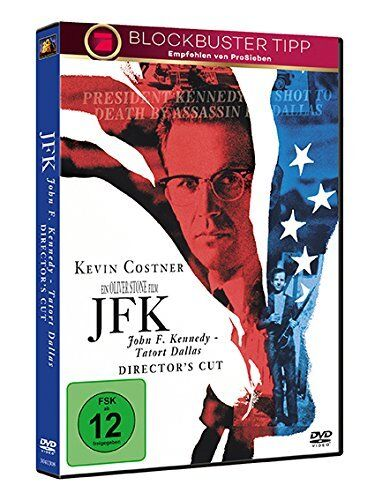 JFK - Tatort Dallas [Director's Cut][DVD/NEU/OVP] von Oliver Stone /Kevin Costne