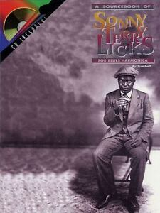 A Sourcebook Of Sonny Terry Licks For Blues Harmonica - Partitions, CD by