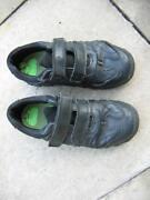 Boys Black Clarks Shoes Size 2