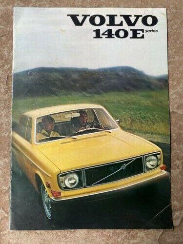 1971 Volvo 140E Series Original Sales Brochure