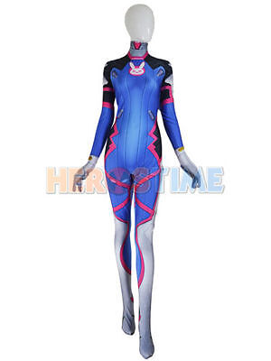 Cool D Va Costume Cosplay Party Zentai Suit For girl / women / lady Hot Sale (Cosplay Costumes For Sale Women)