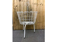 52cms Round Wire Dump Bin Basket. Ideal For Shops or Market Traders.