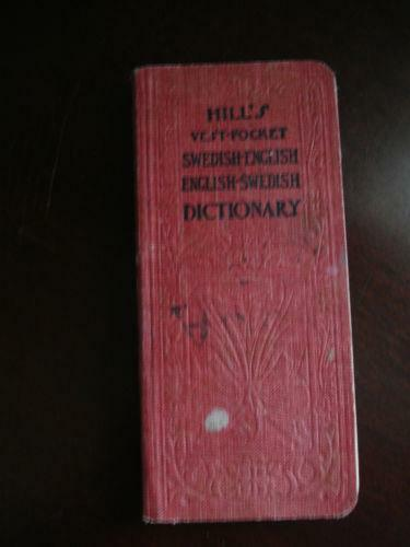Vest Pocket Dictionary Books Ebay
