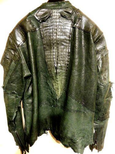 Crocodile Leather Jacket Ebay