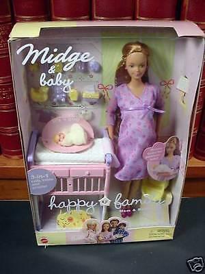 Happy Family Pregnant midge barbie