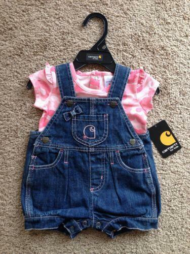 Infant Carhartt Overalls Baby & Toddler Clothing