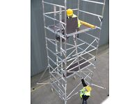 WANTED Aluminium Scaffold Tower Components, Complete Towers & Podiums