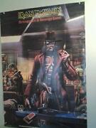 Iron Maiden Poster Vintage