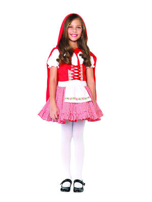 Lil Miss Red Girls Child Red Riding Hood Costume (Red Riding Hood Costumes For Girls)