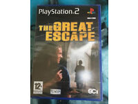 The Great Escape (PS2) (Sony PlayStation 2) (2003)....brand new sealed game...