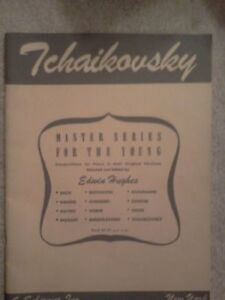 Tchaikovsky Master Series for the Young/Piano-Edwin Hughes