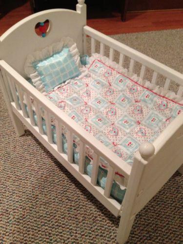 American Girl Bitty Baby Crib Bedding Ebay