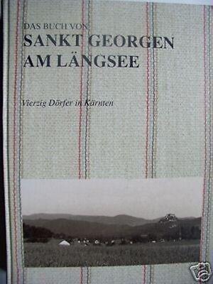 Sankt Georgen am Längsee 1995 Kärnten 40 Dörfer