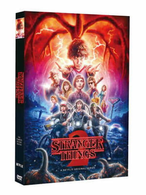 H0T Stranger Things Season 2 (DVD, 2017, 3-Disc Set) Brand New Sealed