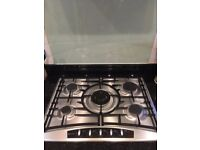 Neff T27R6 Stainless Steel Gas Hob
