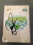 2008 Signed Centenary Cards