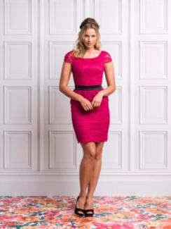 Review Lace Cocktail Dress