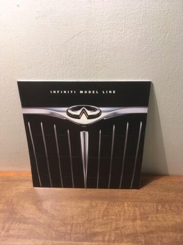 1997-98 Infiniti Sales Brochure Model Line 97-98 I30 QX4 Q45