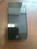 IPHONE 4 8GB FOR (TELUS,KOODO,PUBLIC) GOOD CONDITION