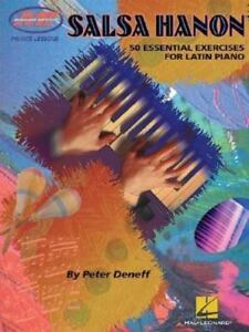SALSA HANON: 50 ESSENTIAL EXERCISES FOR LATIN PIANO BOOK