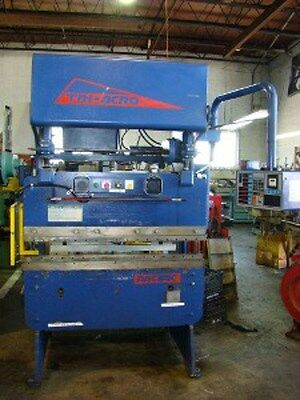 Pacific Tri-acro 54 X 35 Ton Hyda-mechanical 2 Axis Cnc Press Brake