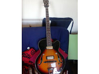 Ibanez AFB-200 Artcore Bass Guitar, semi hollow, Brighton area