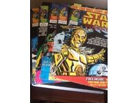 Marvel Comics - Star Wars Weekly Nos 13 - 17.