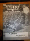 Toro Heavy Equipment Manuals & Books for Toro