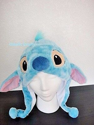 Disney Stitch Lilo plush hats beanie for adults kids Halloween costume cosplay - Stitch Halloween Plush