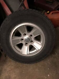 5 Michelin snow tires
