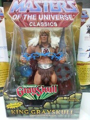 King Grayskull MOTU Orb 2012 Masters of the Universe Classics HE MAN NEU RAR
