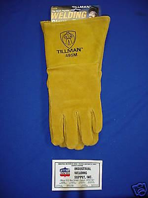 Tillman 495m Premium Welding Gloves Pigskin Medium