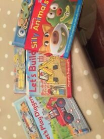 Set of 3 Magnetic Story Books