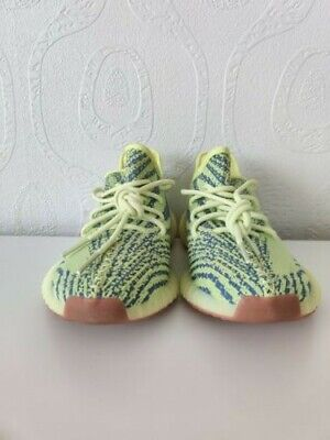 Adidas Yeezy Boost 350 V2 Semi Frozen Yellow US 8 UK 7.5 USED WITHOUT A BOX.