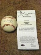 St Louis Cardinals Autograph Ball