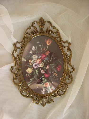 Ornate Oval Frame Ebay