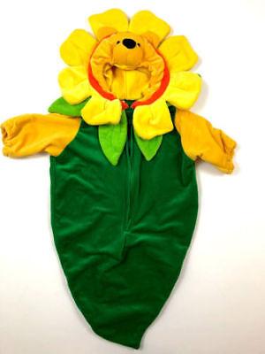 Disney Store 0 3 Months Winnie the Pooh Sunflower Halloween Costume Bunting