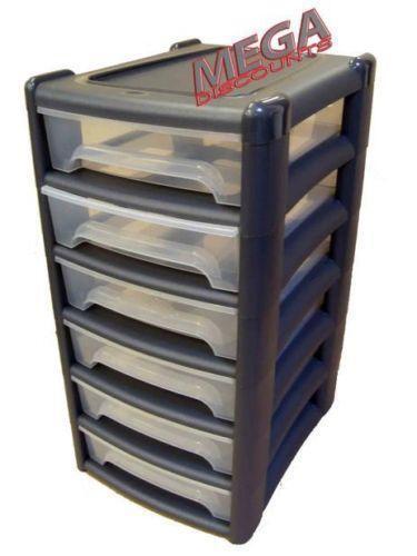 4 drawer plastic storage ebay. Black Bedroom Furniture Sets. Home Design Ideas