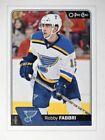 Single Hockey Trading Cards Robby Fabbri