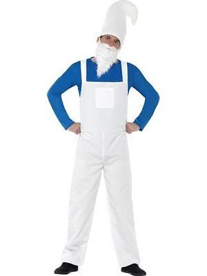 Herren Gartenzwerg Komisch Kostüm Verkleidung Erwachsene Outfit Party Zwerg Satz