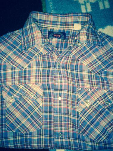 Womens Pearl Snap Denim Shirt