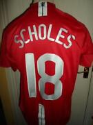 Manchester United Shirt 2007
