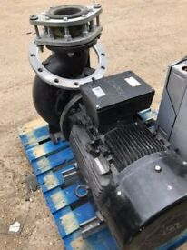 GRUNDFOS INDUSTRIAL PUMP 40 HP WITH INVERTER DRIVE UNIT