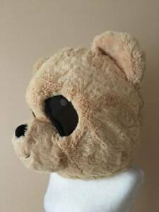 Teddy Bear Mascot Head