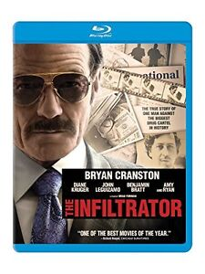 The Infiltrator Blue-Ray DVD